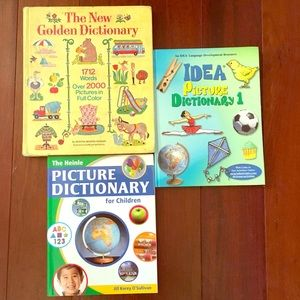 Other - 3 English Picture Dictionaries for Young Children